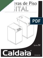 Caldaia-Manual Caldera de Piso-Serie M
