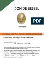 Ecuación de Bessel (2)
