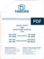 Nardini Ms 175 205 1400 1600 Manual