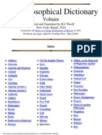 Voltaire-The Philosophical Dictionary