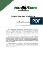 Andrei Siniavski - La Civilizacion Sovietica