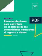 10 2019 Recomendaciones Escuelas