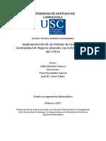 Implementación de Un Sistema de Gestión de Continuidad Del Negocio 2017 Tesis