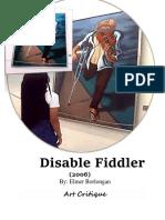 Disable Fiddler
