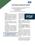 Implementación de los Requerimientos de Comunicación para un Sistema de Seguridad con el Patrón de Mensajería Recipient List y RabbitMQ ISBN 978-607-95630-3-5