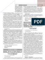 Decreto Supremo N° 017-2019-JUS