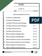 Cbse Test Paper & Solution 1