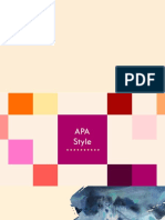 APA Referencing Style (6th Edition) Presentation