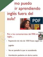Cómo aprender inglés fuera del aula