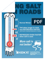 Using Salt on Roads