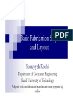 Basic fabrication steps and layout
