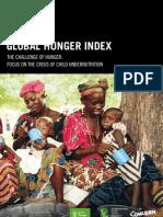Global Hunger Index 2010