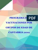 Programa Vacunaciones