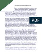 Dacion En Pago vs Contract to Sell