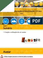 TIC5_Aula_Criação e utilização de um avatar.pptx