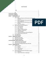 Daftar Isi, Daftar Tabel, Daftar Gambar