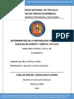 Sarachagahorna Carlos