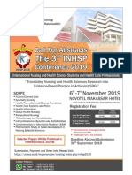 Flyer Conference Call for Abstracts (2nd Announce)