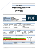 demolition methodology