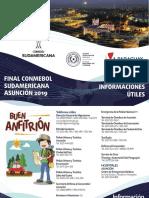 Toda la info para la Sudamericana Final 2019 en Asunción