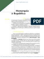 18 Da Monarquia a Republica