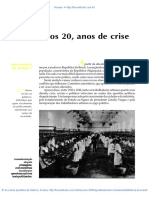 24 Anos 20 Anos de Crise