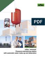 Pressurization Unit(Reflex Variosat)