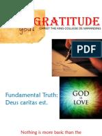Gratitude Power Point