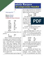 19- Karpov vs. Spassky
