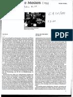 Weibel - Freud Und Die Medien