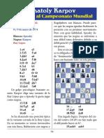 18- Spassky vs. Karpov