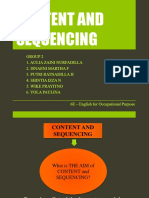 CONTENT AND SEQUENCING.pptx