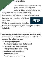 String in c++