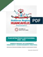 PEI 2020 2022 GORE- Educación - HUANCAVELICA