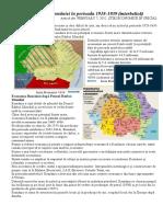 2 Economia României În Perioada 1918