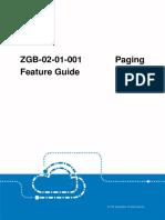 GERAN ZGB-02!01!001 Paging Feature Guide (V4)_V1.0