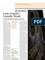 Diário Económico - DouroAzul avança com cruzeiro Luanda-Brasil