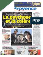 Une de La Provence