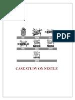 Documented Case Study on Nestle
