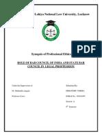 Professional Ethics Synpos