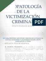 Clase Psicopatología de La Victimización Criminal (1)