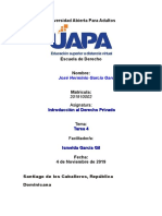 Tarea 5 Introduccion Al Derecho Privado Jose Garcia