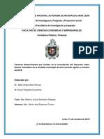 Factores Determinantes Del Ibi
