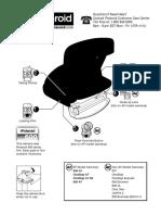 Polaroid 600 Series Camera - Quick Reference Sheet