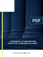 A Snapshot of Demand for Adult-use Cannabis in Illinois