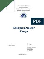 Ensayo Etica para Amador