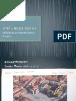 ANALISIS DE OBRAS