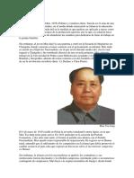 Biografia de Mao Tse Tung