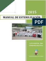 Manual de Esterilizacion