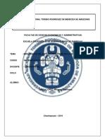 Importancia Del Sistema Financiero en La Región Amazonas